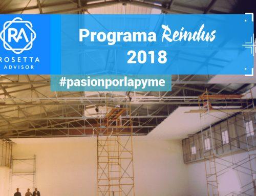 El programa Reindus 2018, a fondo