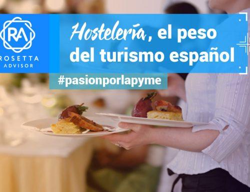 El peso del turismo y la hostelería en España hasta junio de 2018