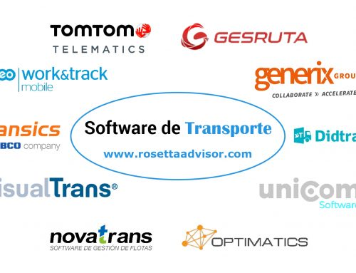 Software especializados en el sector del transporte