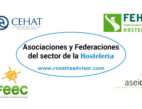 Principales asociaciones del sector de la Hostelería