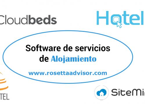 Los mejores software de gestión para los servicios de alojamiento